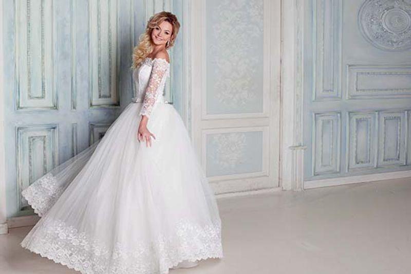 abiti da sposa ampi