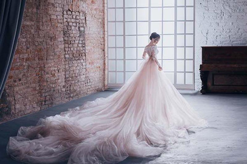 abiti da sposa principeschi