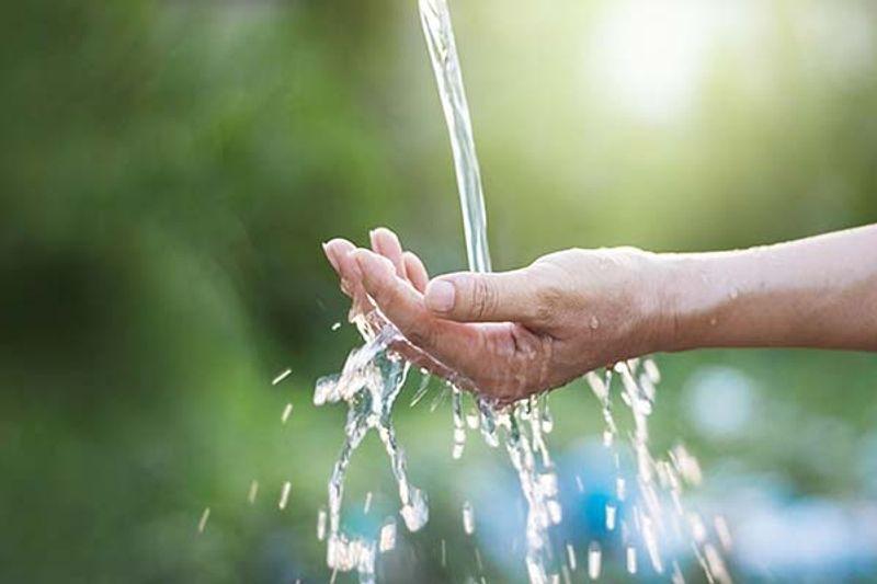 acqua corporea in eccesso