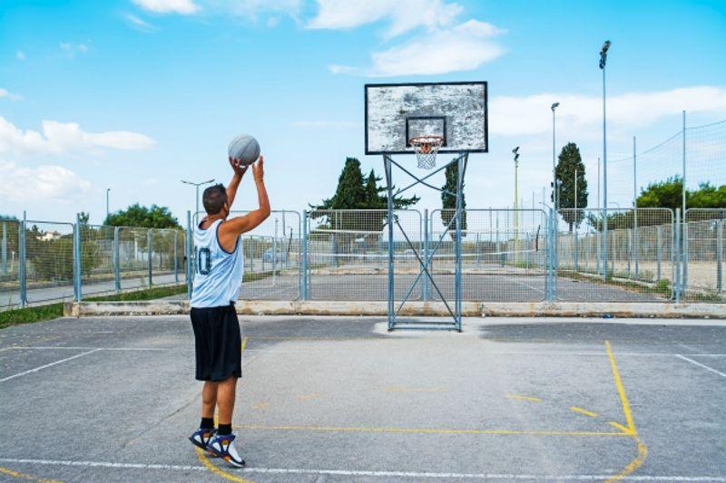 campetti da basket a Milano