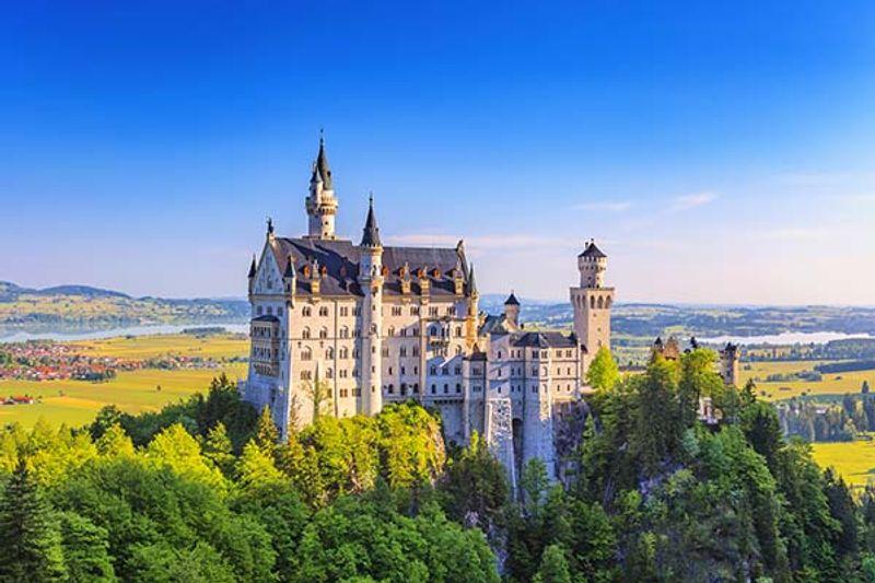 castello di neuschwanstein disney