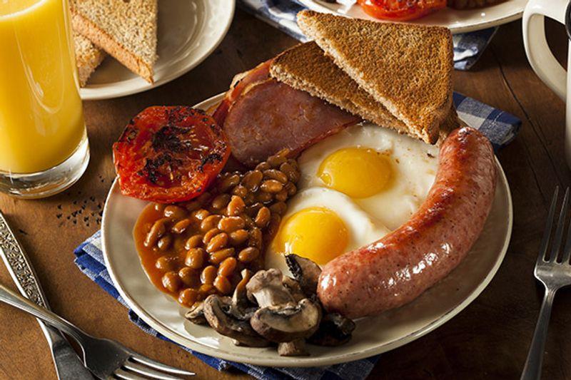 cibo inglese