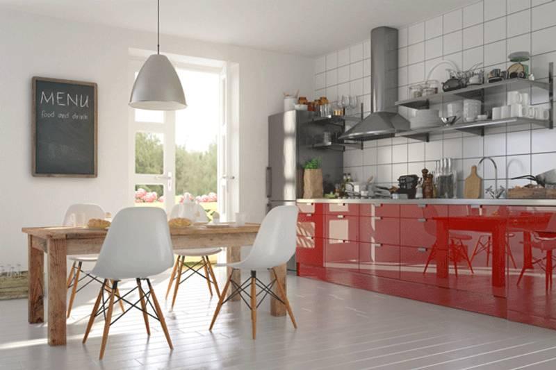 come abbinare colori per cucina e pavimento