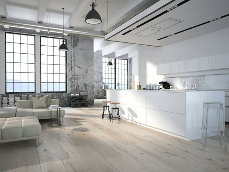 Abbinare colori pareti e pavimenti della cucina trovami - Pavimento per cucina ...