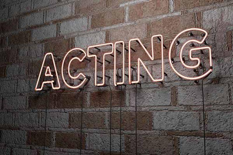 come diventare attore