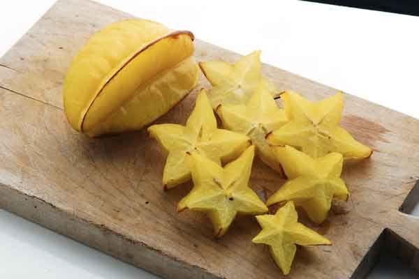 frutti esotici carambola