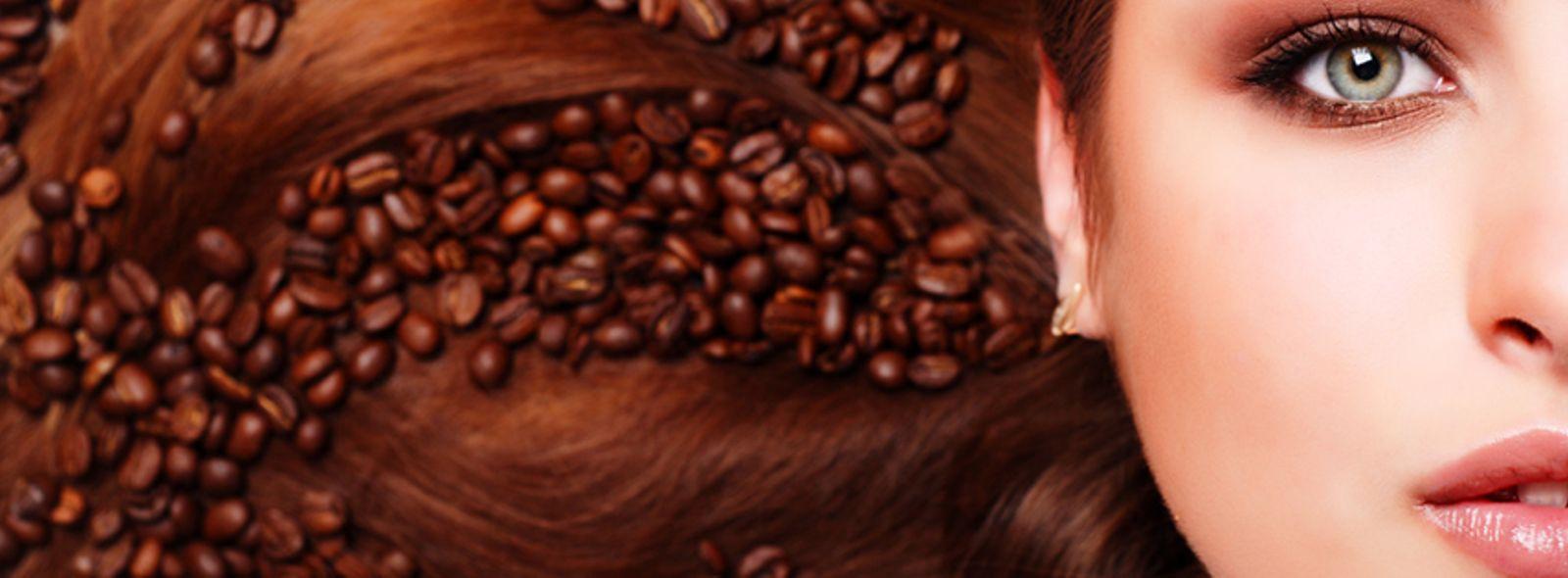 Caffè sui capelli