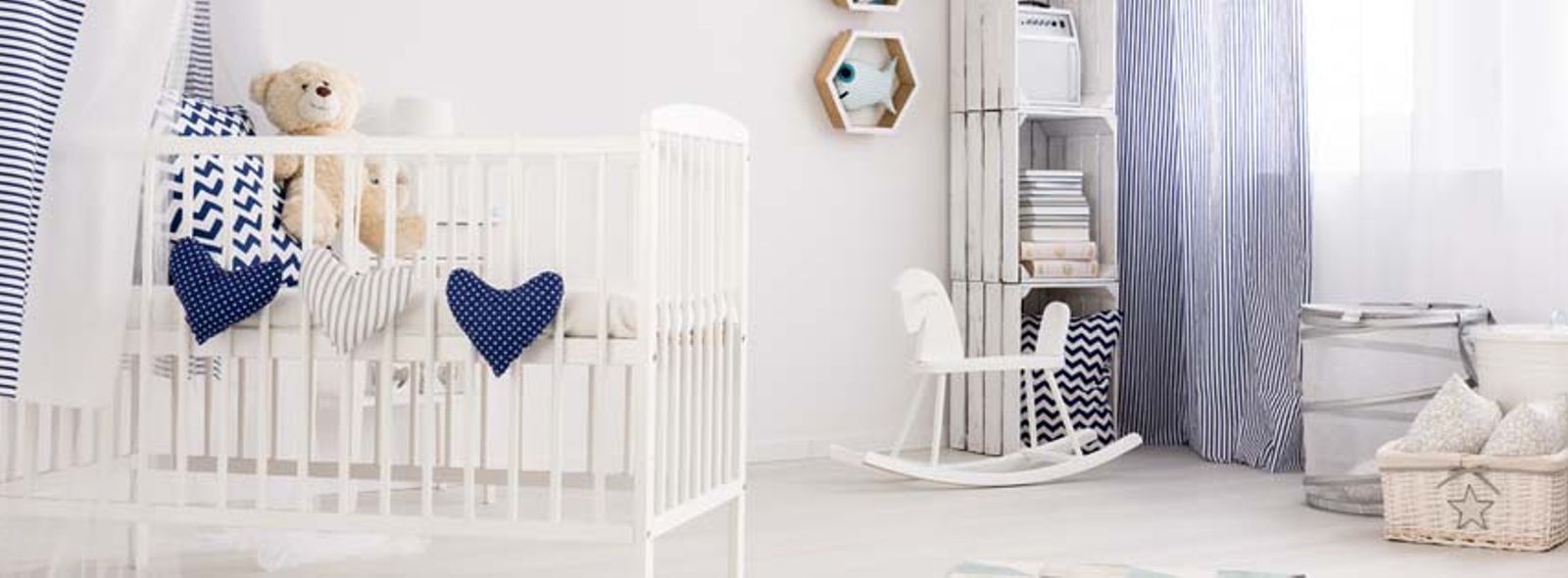 Come organizzare la cameretta del neonato