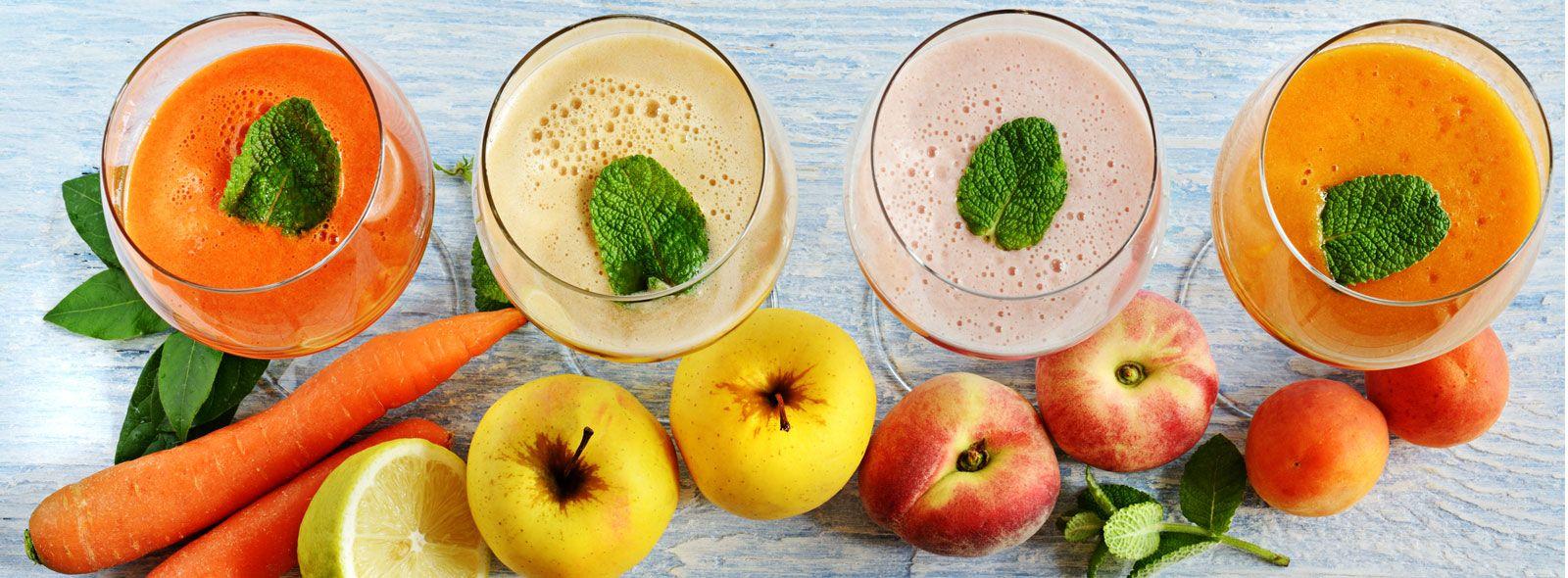 Centrifugati di frutta e verdura