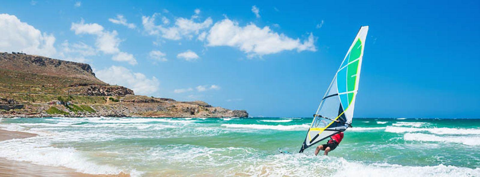 Come imparare il windsurf