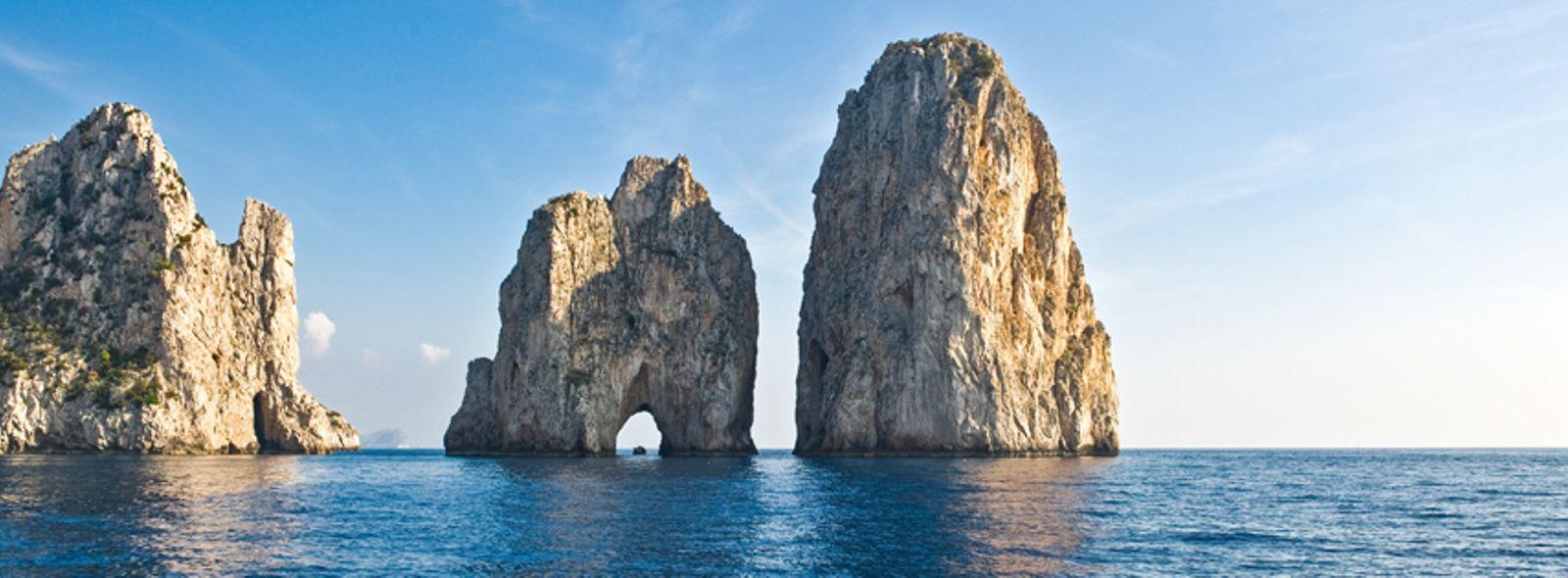 Faraglioni di Capri leggenda