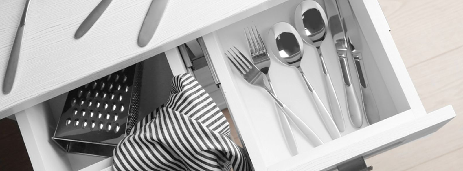 Divisori cassetti cucina divisori per cassetti cucina accessori cassetti e cestoni rovere - Divisori per cassetti cucina ...