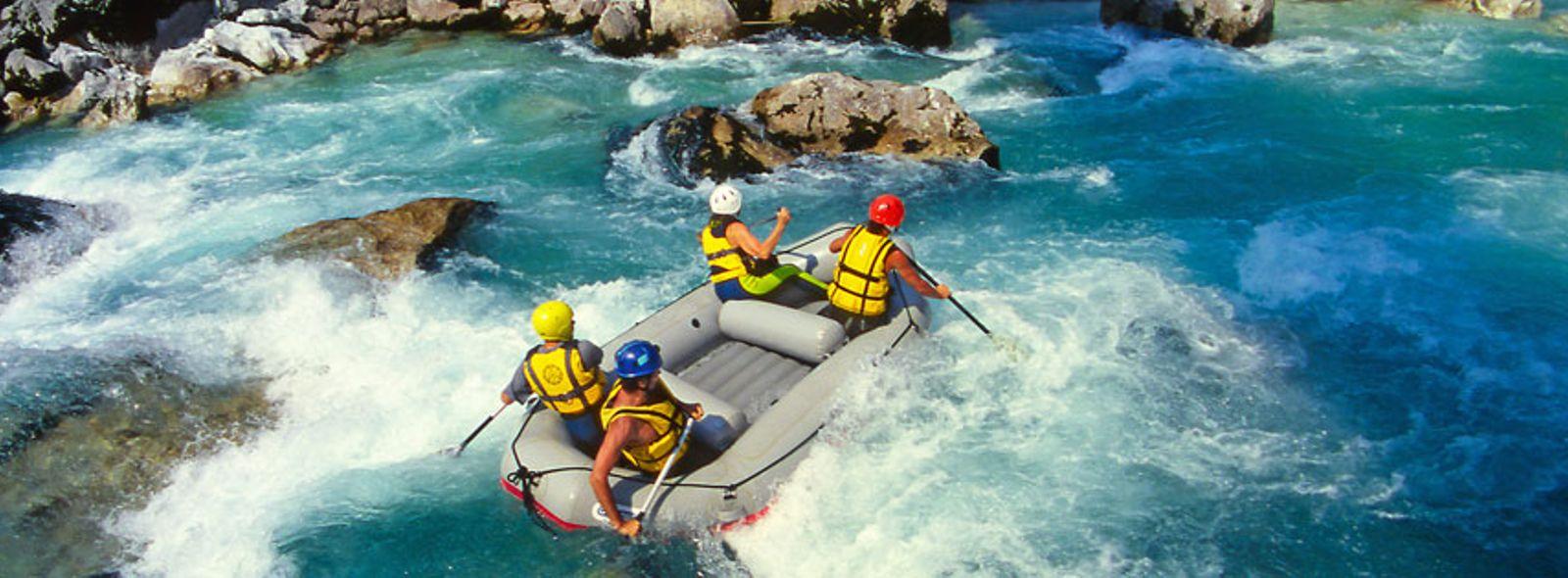 I luoghi migliori dove fare rafting in Italia
