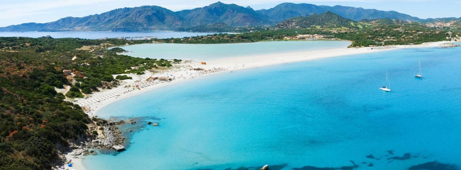 Le spiagge pi belle del sud della sardegna trovami for Casa di piantagioni del sud