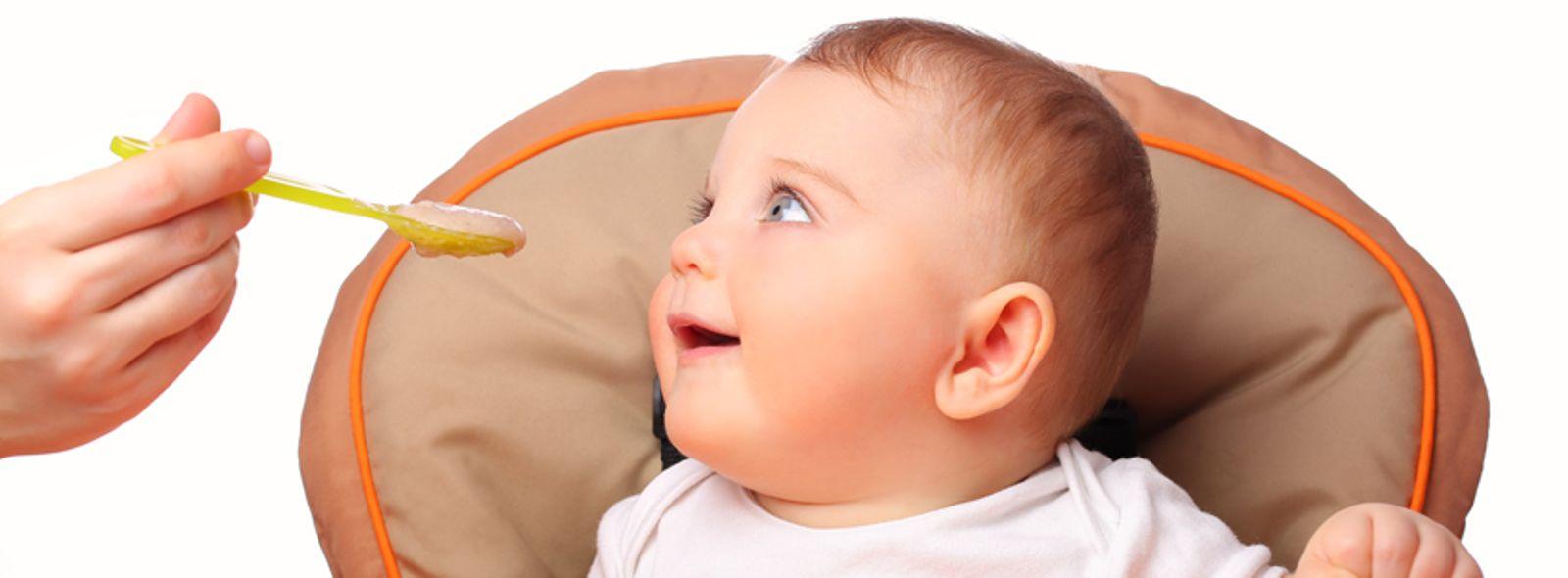 Svezzamento neonato