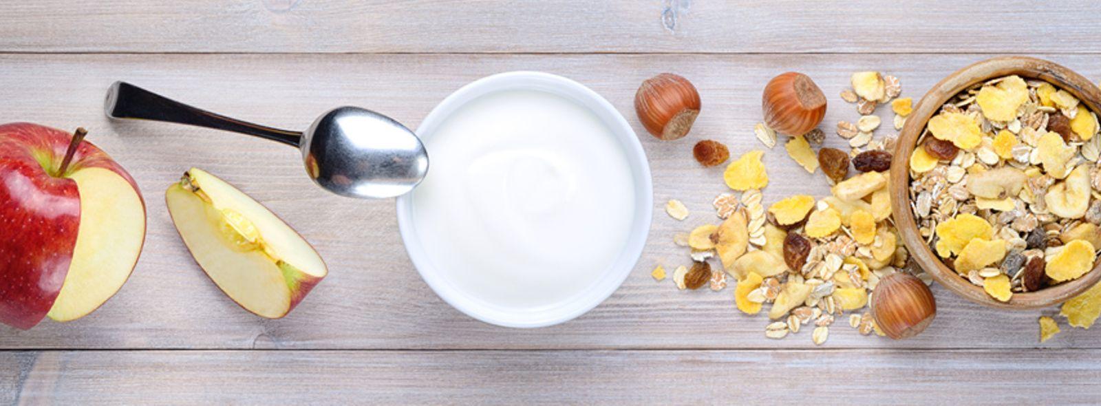 Yogurt bianco senza zucchero