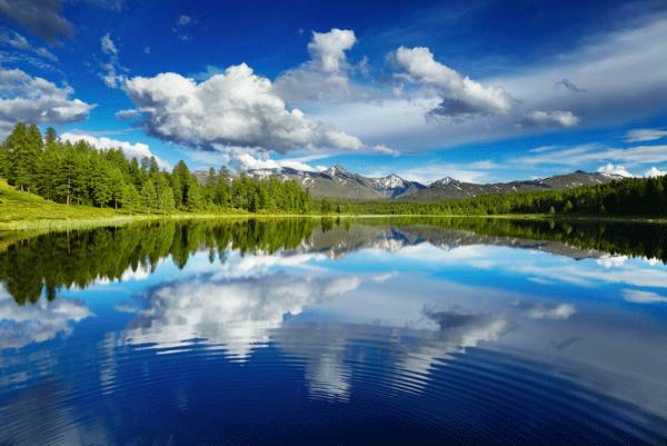 Lago di Braier dove si trova