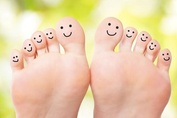 nomi delle dita dei piedi