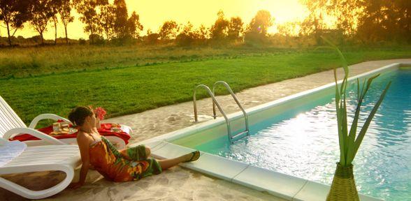 Agriturismo piscina Lazio