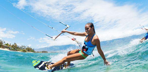 Dove fare kitesurf in italia