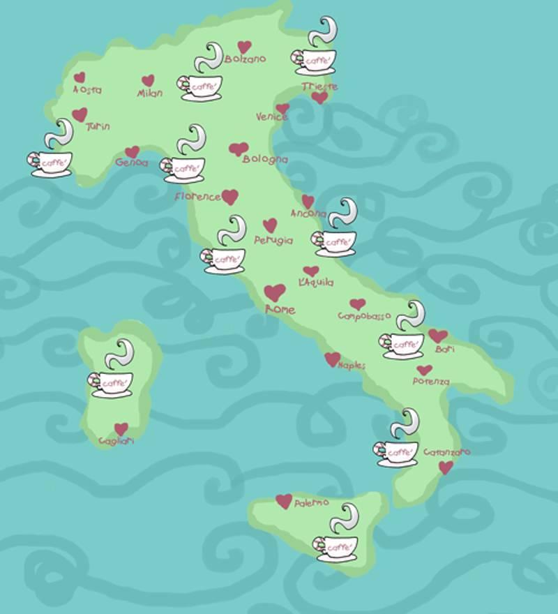 Cartina Politica Italia Con Capoluoghi Di Regione.Quante Sono Le Regioni In Italia Trovami