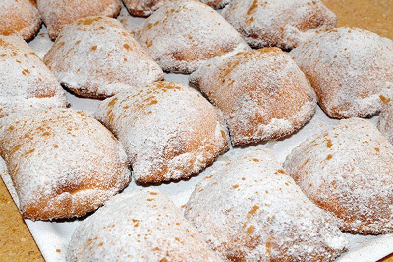 raviole di ricotta fritte siciliane