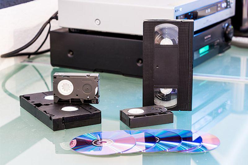 riciclare custodie videocassette