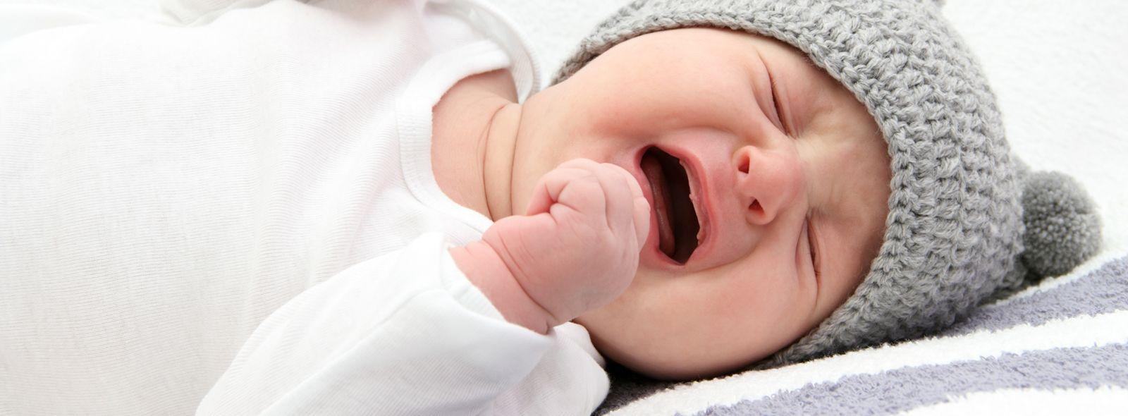 Singhiozzi del neonato